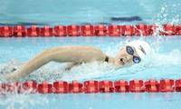 15-year-old Chinese swimmer makes a splash in American pools