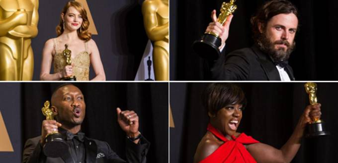 In pics: winners of 89th Academy Awards